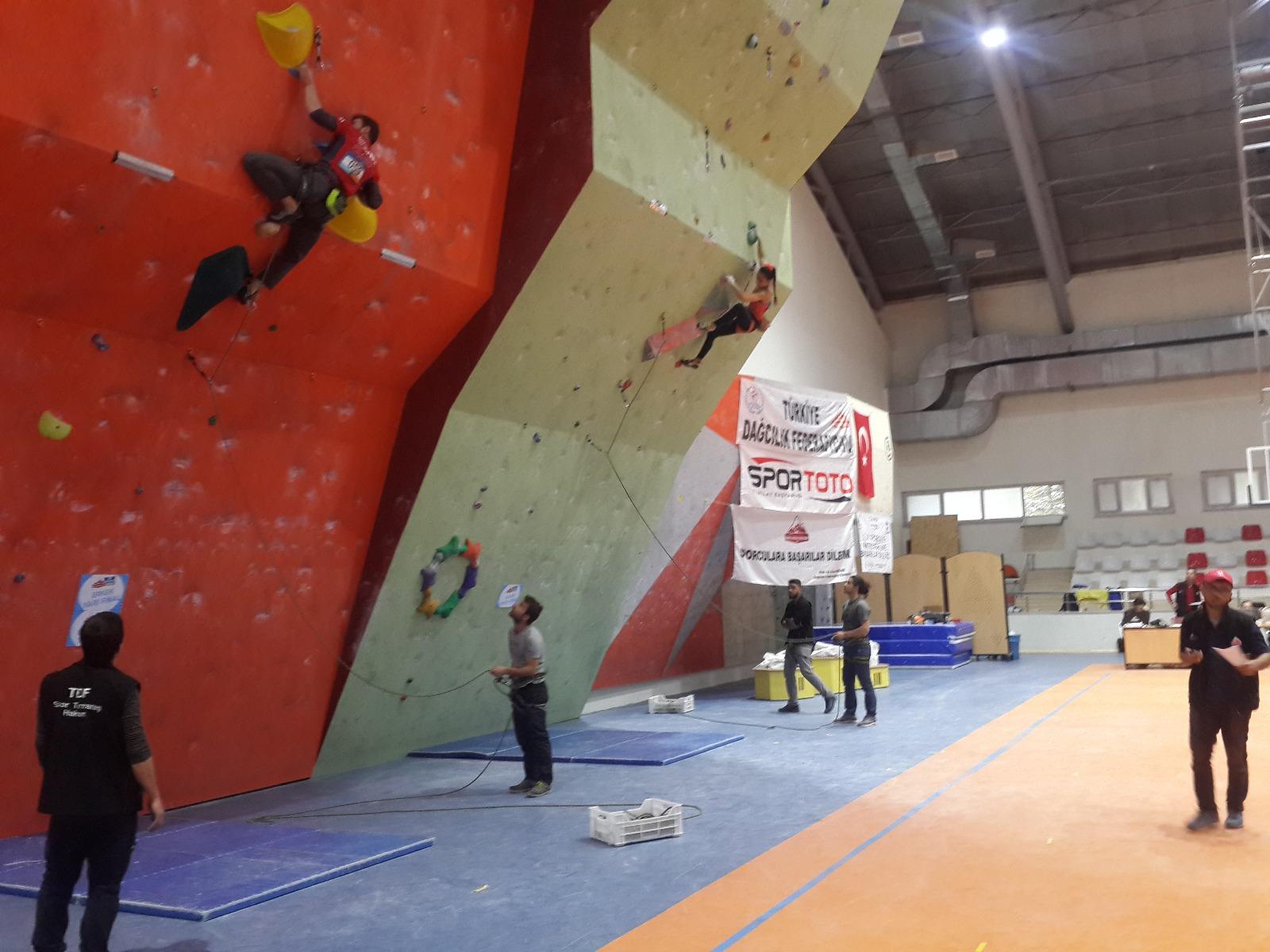 Spor Tırmanış Gençler, Büyükler Lider Türkiye Şampiyonası Finalleri 2. Ayak - Samsun Başvuruları