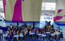 Spor Tırmanış Minikler ve Küçükler Lider Türkiye Şampiyonası Finalleri 1. Ayak tamamlandı.