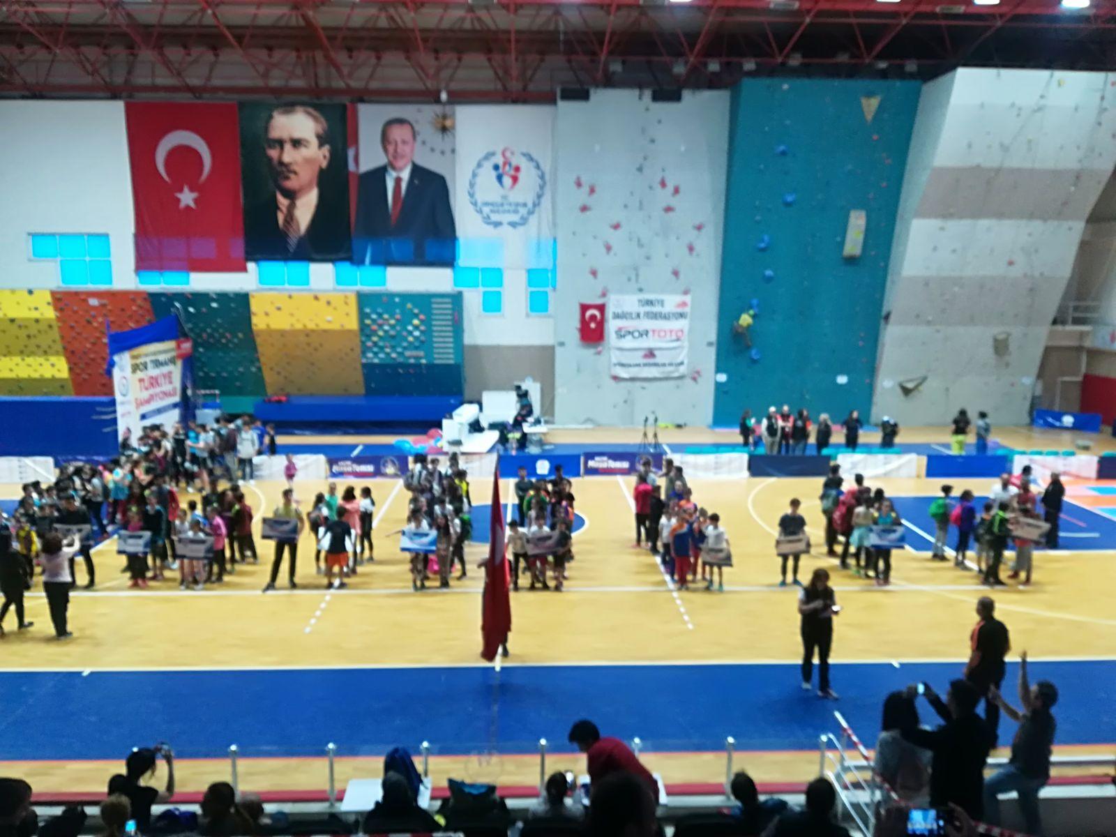 Spor Tırmanış Minikler, Küçükler Lider Türkiye Şampiyonası Finalleri 2. Ayak tamamlandı.