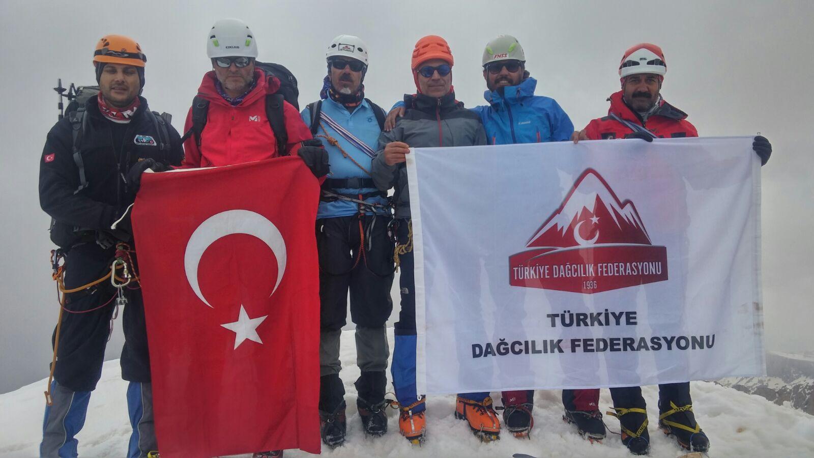 Yüksek İrtifa Aday Kadro Doğal Ortam Tırmanışları tamamlandı.
