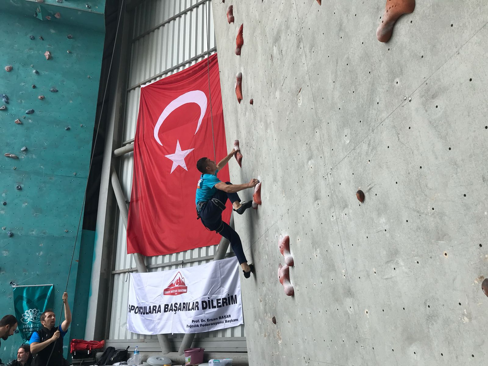 Spor Tırmanış Minikler Milli Takım Hazırlık ve Seçme Kampı - Malatya