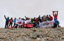 TDF Medetsiz Dağı Zirve Tırmanışı başarıyla tamamlandı.