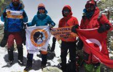 Demavend Dağı Zirve Tırmanışı başarıyla tamamlandı.