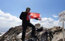 İDADİK İran Alborz Dağları'nda gerçekleştirdikleri zirve tırmanışlarını başarıyla tamamladı.