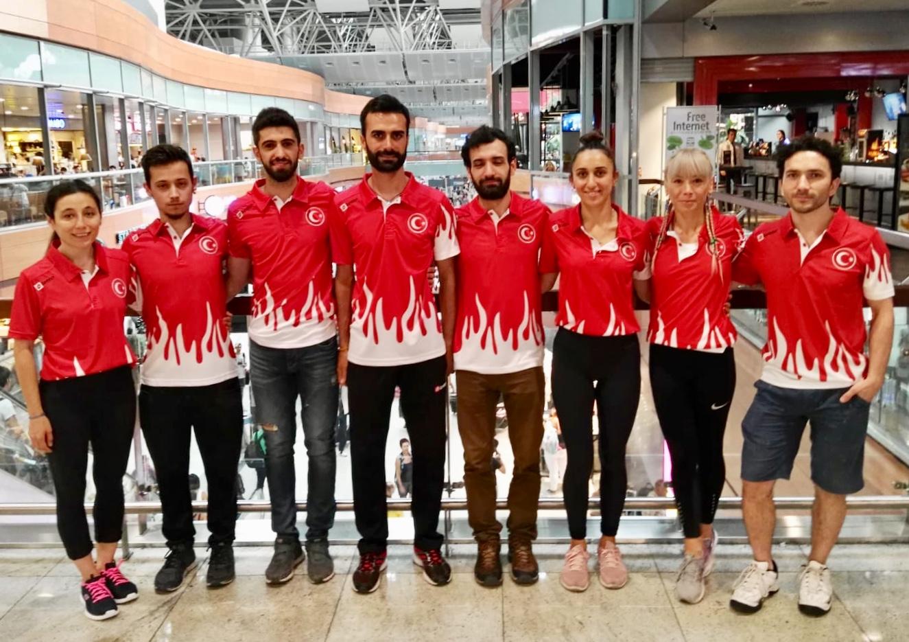 Spor Tırmanış Milli Takımımız Dünya Lider ve Hız Kupasına katılmak için İtalya'ya gitti.