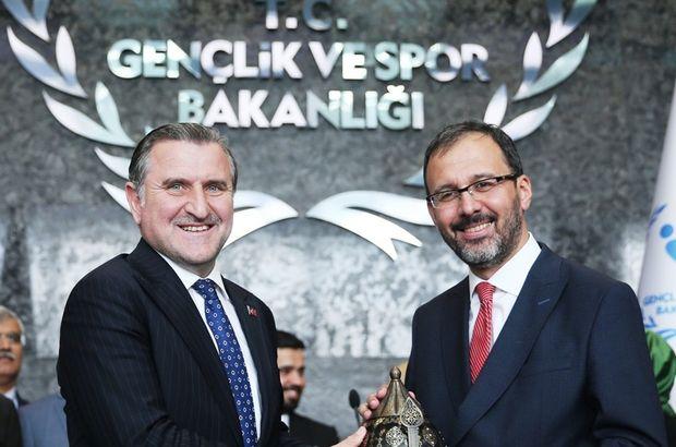Gençlik ve Spor Bakanı Sayın Mehmet Kasapoğlu'nu tebrik ediyoruz.