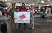 Proje Destekli Tırmanış için ilk takım yola çıktı.