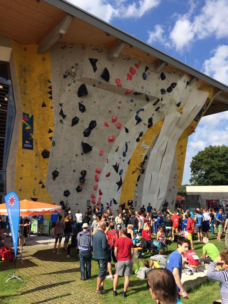 Avrupa Gençler Lider Spor Tırmanış Yarışması Almanya'da düzenlendi.