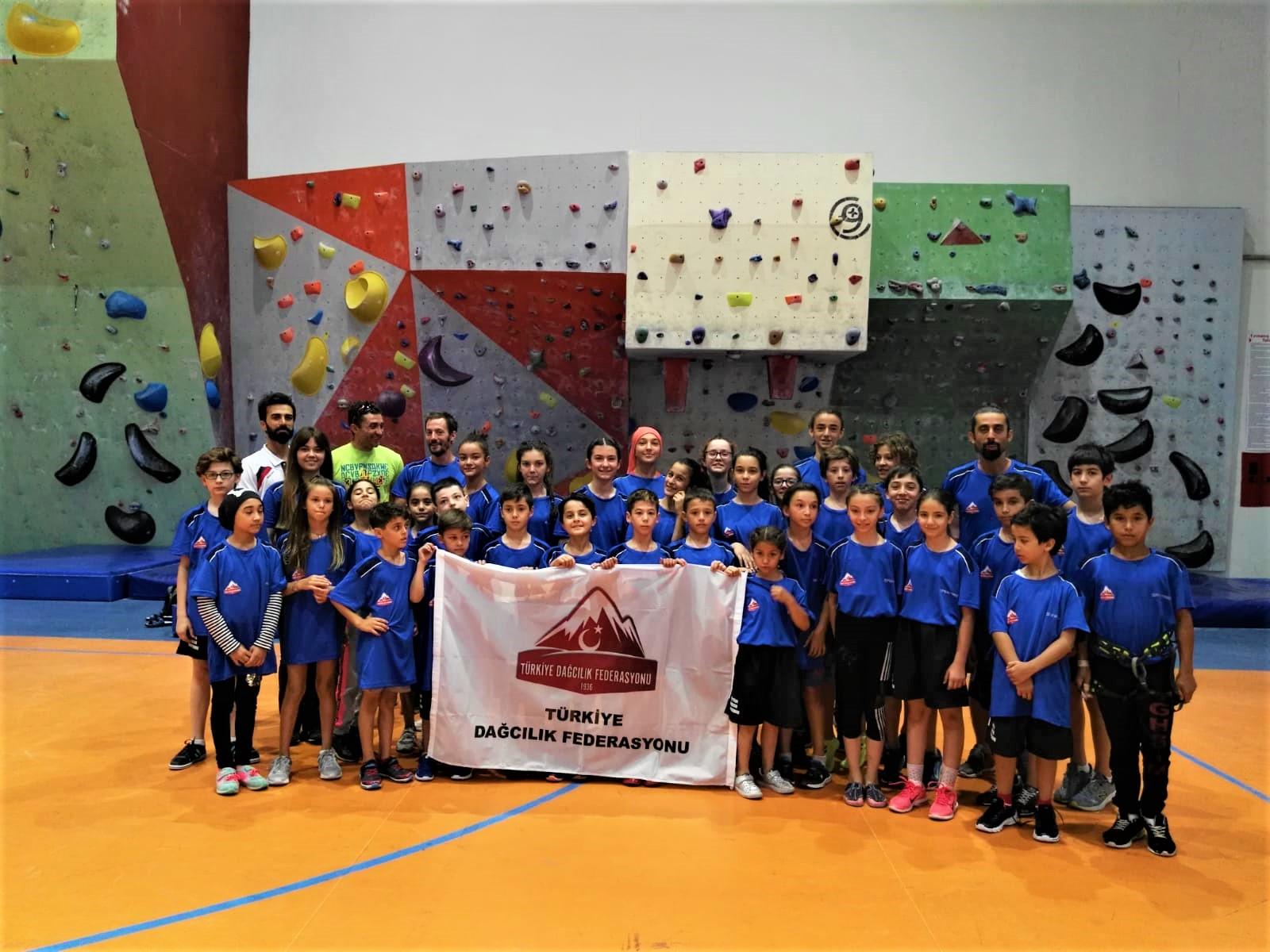 Spor Tırmanış Milli Takım Minikler Kampı başarı ile Malatya'da tamamlandı.