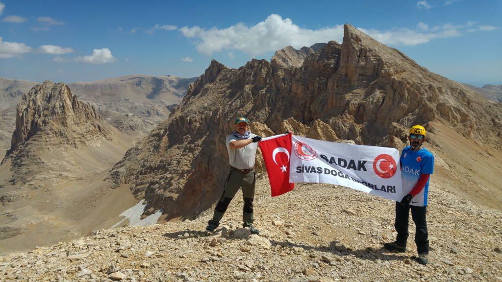 Sivas Doğa Sporları Kulübü Aladağlar Zirve Faaliyetleri