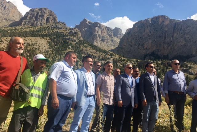 Aladağlar'da Dağcılık Turizmi Çalıştayı düzenlendi.