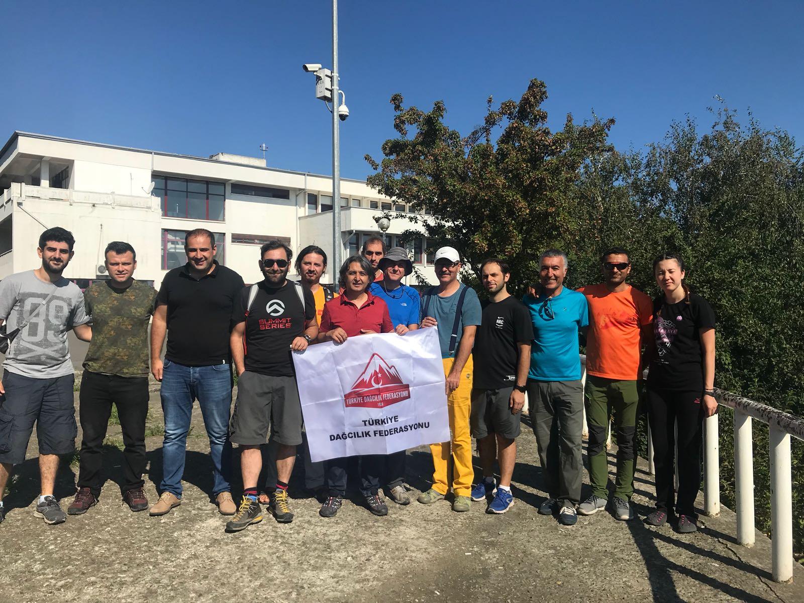 TDF Gürcistan Tetnuldi Dağı Faaliyeti başladı.