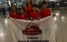 TDF Spor Tırmanış Minikler Milli Takımı Azerbaycan'a gitti.