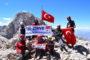 Kırgizistan'ın Lenin Dağı'nda Gökalp Saklı Sky Maratona katılıyor.
