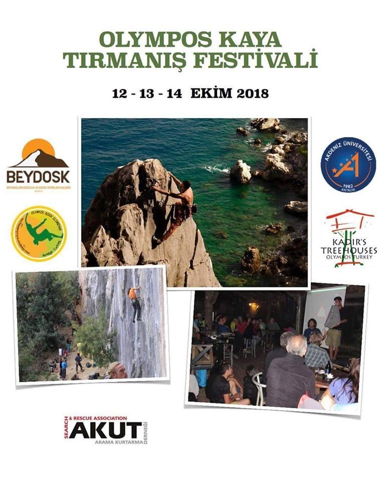 Olympos Ulusal Kaya Tırmanış Festivali Daveti