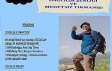 12. Muzaffer Erol Gez Dağcılık Şenliği ve Medetsiz Dağı TırmanışıDaveti