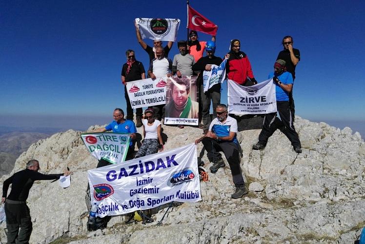 Koray Büyükburç anısına Barla Dağı Zirve Tırmanışı gerçekleştirildi.