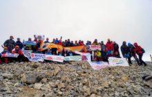 12. Muzaffer Erol Gez Dağcılık Şenliği ve Medetsiz Dağı Zirve Tırmanışı gerçekleştirildi.