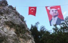TODOSK'un düzenlediği kaya tırmanış şenliği tamamlandı.
