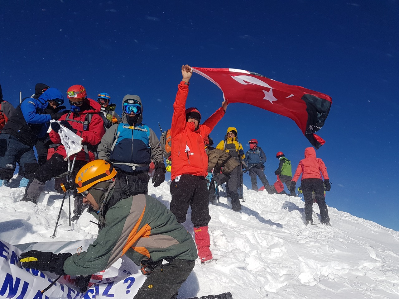 29 Ekim Erciyes Dağı Cumhuriyet Tırmanış Katılımcı Listesi