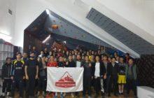 Van'da Spor Tırmanış Boulder İl Birinciliği yarışması düzenlendi.