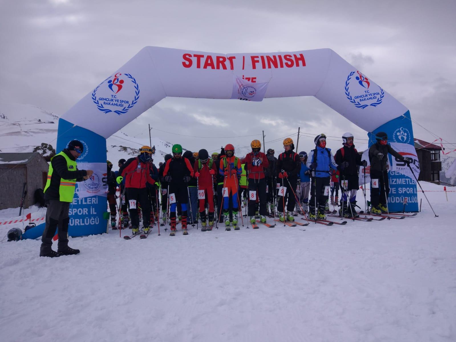 Dağ Kayağı Milli Takımı Aday Kampı - Erzurum
