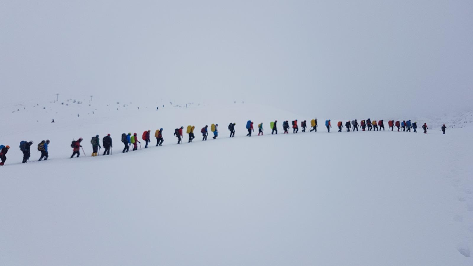 Kış Gelişim Eğitimi başarıyla tamamlandı.