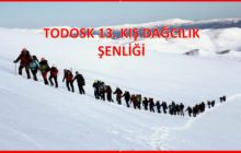 TODOSK 13. Kış Dağcılık Şenliği