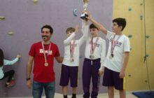 İzmir Okul Sporları Spor Tırmanış Yarışmaları tamamlandı.