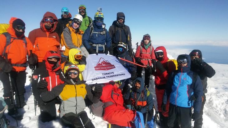 Süphan Dağı Kış Tırmanış Faaliyeti Başvuruları