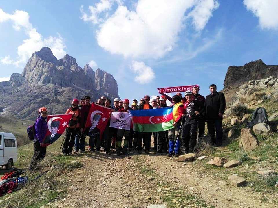 Nahcivan Haça Dağı Tırmanışı