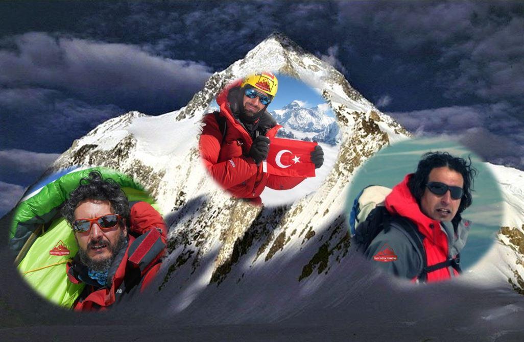 Yüksek İrtifa Takımımız Gasherbrum I Dağı (8068 m) zirvesine ulaştı.