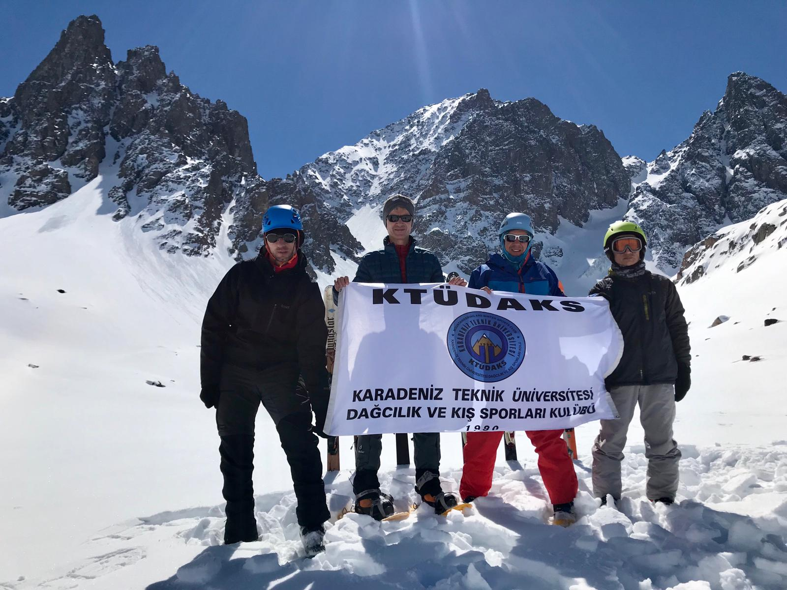 Kaçkar Dağı Dağ Kayağı Trans Faaliyeti
