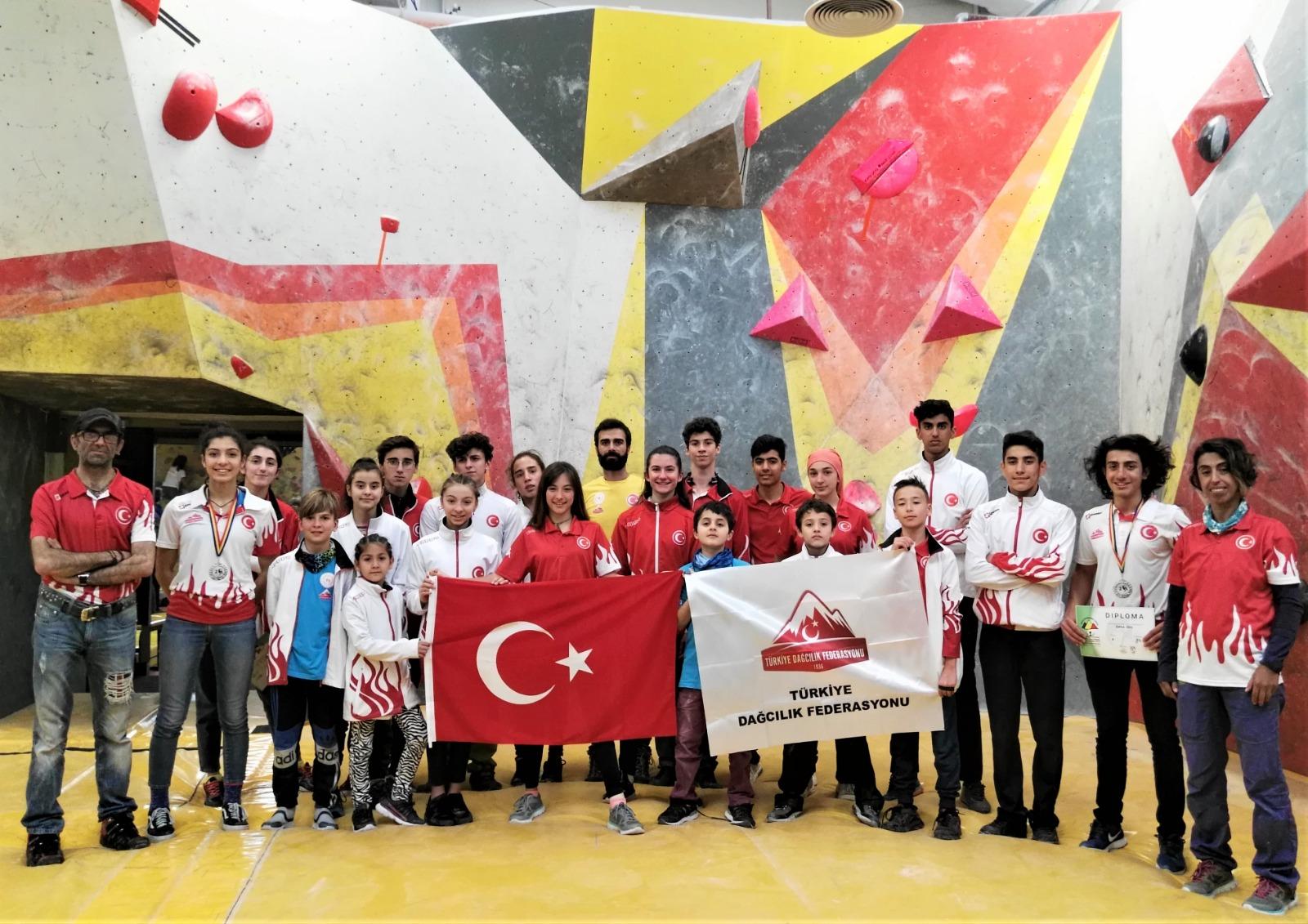 Spor Tırmanış Milli Takımı Balkan Şampiyonasından 3 Madalya Alarak Yurda Döndü