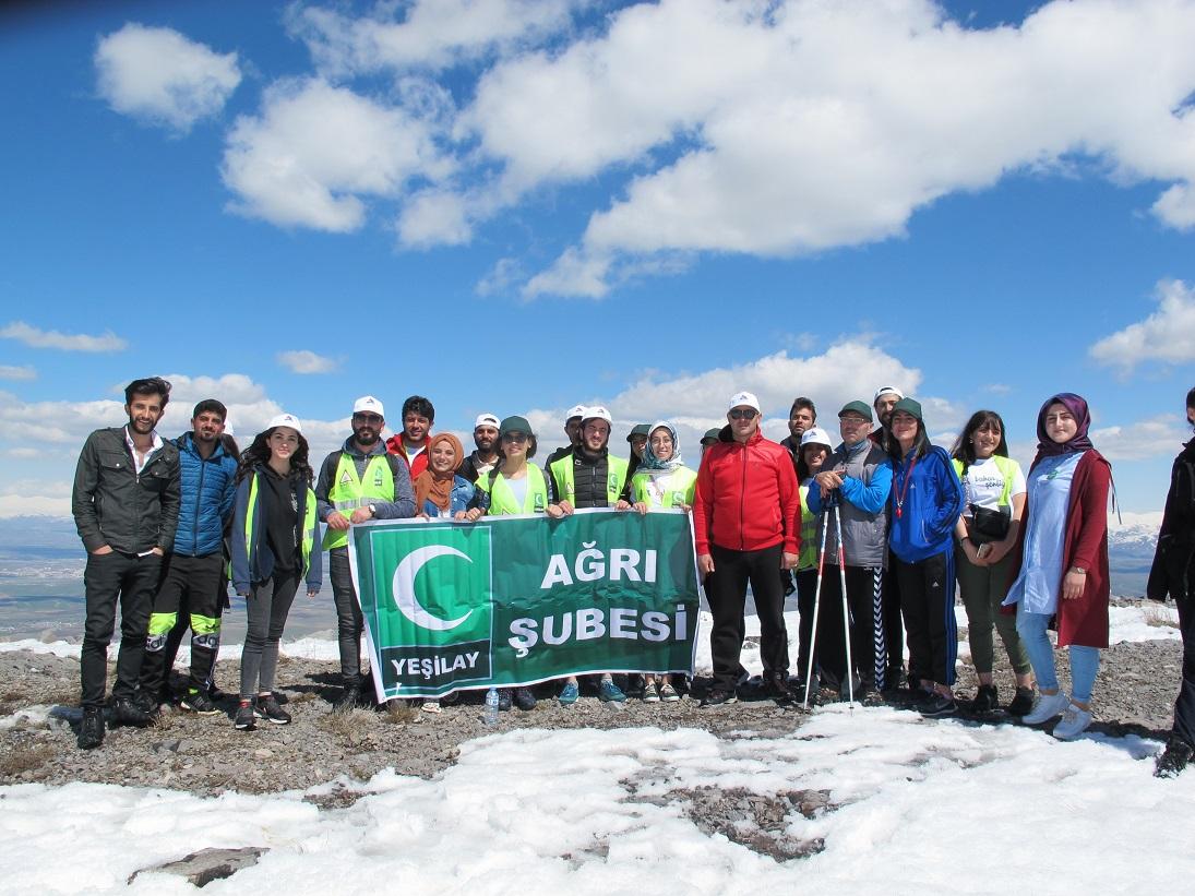 11. Yıl Bahar Şenliği Kapsamında Bubi Dağı Tırmanışı