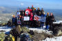 100. Yılında 19 Mayıs Erciyes Dağı Tırmanışı Tamamlandı