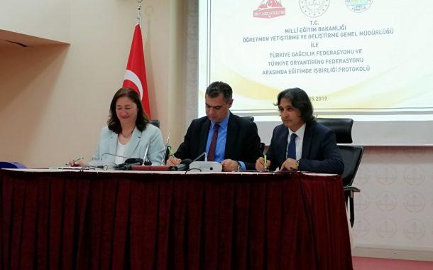Milli Eğitim Bakanlığı İle Federasyonumuz Arasında Eğitim Protokol İmzaladı