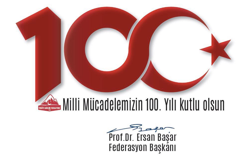 Federasyon Başkanımız Prof. Dr. Ersan BAŞAR'ın 19 Mayıs Mesajı