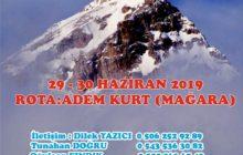 5. Sultan Dağı Adem Kurt Anma Tırmanışı Daveti