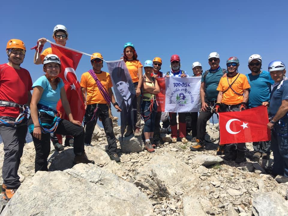 TODOSK 19 Mayıs Anma Tırmanışı gerçekleştirdi.