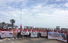 Ulusal Kurtuluş Mücadelesi 11. Anma Yürüyüşü gerçekleştirildi.