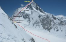Gasherbrum I Yüksek İrtifa Ekibimiz ana kampa doğru yola çıkıyor.