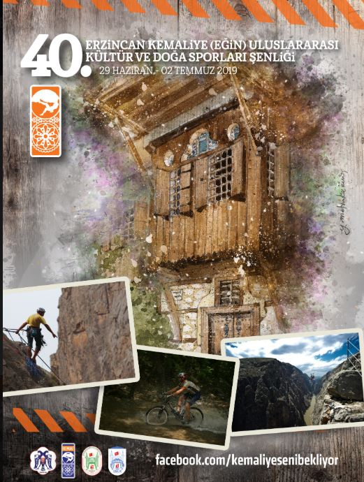 40. Erzincan Kemaliye (Eğin) Uluslararası Kültür ve Doğa Sporları Festivali