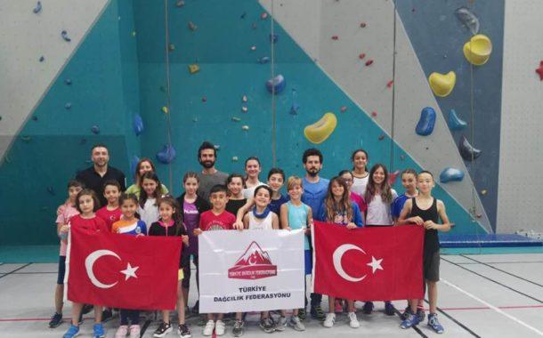Spor Tırmanış Küçükler C-D-E Aday Milli Takım Gelişim Kampı Bursa'da tamamlandı.