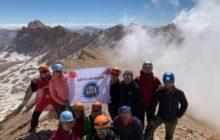 Asya Dağcılık Okşar Zirve Tırmanışı'nı gerçekleştirdi.