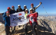 ADOG ve GEZGİNDER Emler Dağı Zirve Tırmanışı'nı gerçekleştirdi.