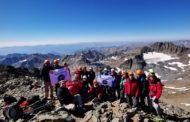 Asya Dağcılık, Kaçkar Dağları'nda zirvelere tırmanışlar gerçekleştirdi.