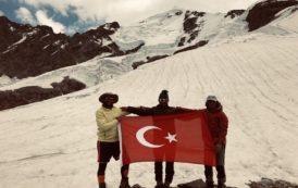 Erzurum İl Temsilciliği tarafından Tetnuldi Dağı tırmanışı gerçekleştirildi.