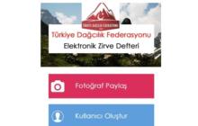 TDF E-Zirve Uygulamasına Yeni Dağlar Eklendi
