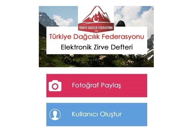 TDF E-Zirve uygulamasına yeni dağlar eklendi.
